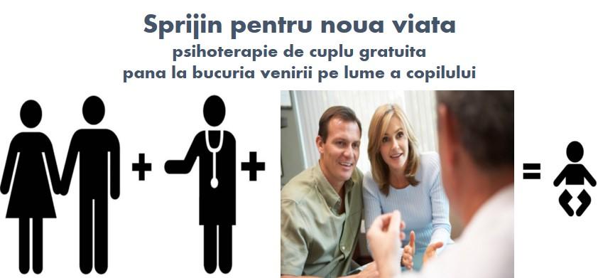 Infertilitate psihoterapie cuplu gratuita Sprijin pentru noua viata